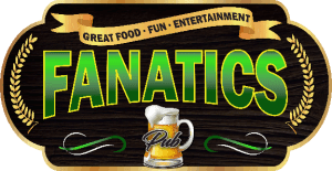 Logo, Fanatics Pub & Pizza